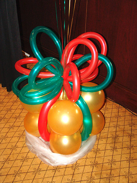 Enchanted events and balloons christmas for
