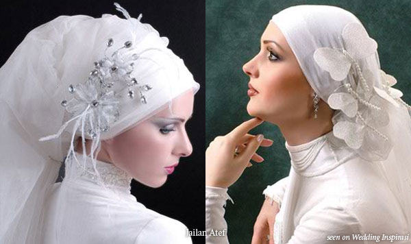 Creative Wedding Gown Veiling