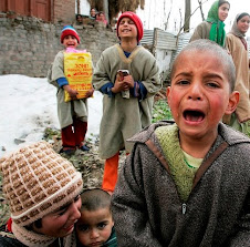 OPPRESSED CHILDREN OF KASHMIR