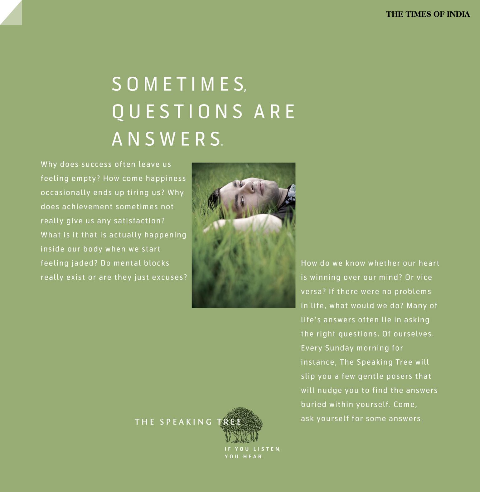 i am a tree speaking essay