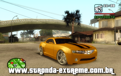 Camaro Branco on Gta Vice City   Naruto Project  Gta Sa   Camaro Concept 2009 Bumblebee