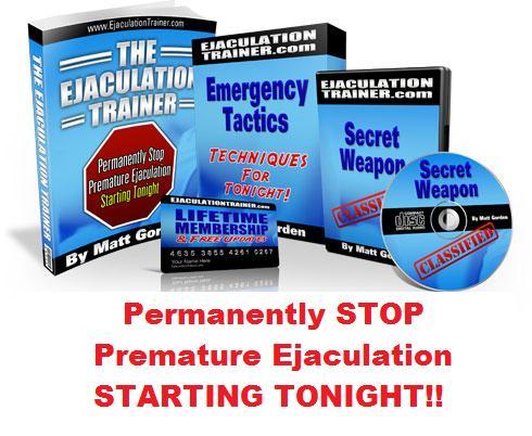 Secret Weapon To Prolong Premature Ejaculation