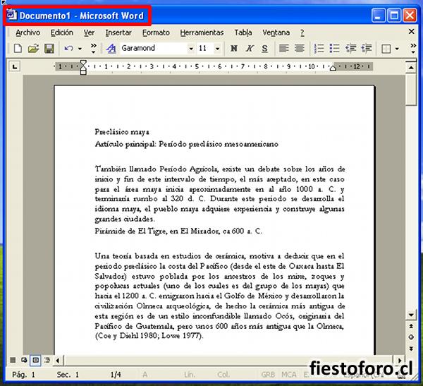 Cómo imprimir libros caseramente con MS Word