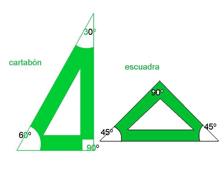 Dibujo tecnico cun manejo de escuadras - Sacar escuadra para colocar piso ...