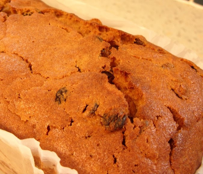 Ginger And Sultana Cake Recipe