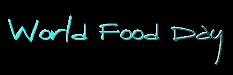 Welt Ernährungs Tag