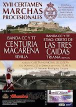 CERTAMEN DE MARCHAS PROCESIONALES, ESTEPA  2011