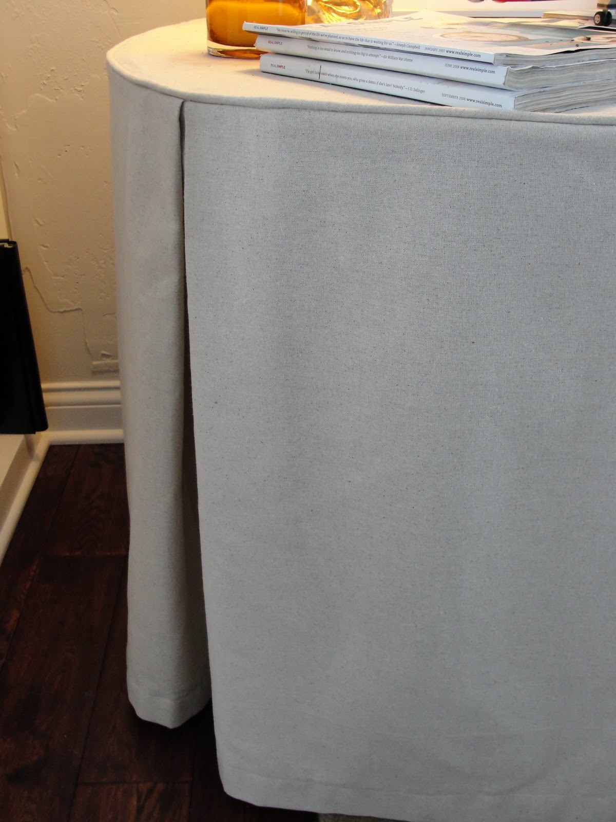 How To Sew A Table Skirt