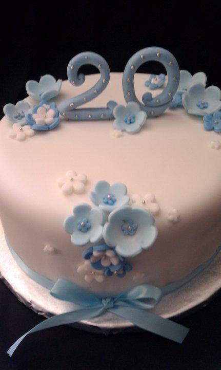 Cake Hope And Love 20th Birthday Cake