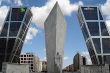 Torres inclinadas de Madrid