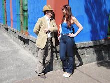 En la esquina de la casa azul de Frida Kalho