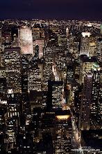 New York es un ser vivo que brilla en la noche