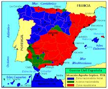 Un ejemplo claro de lo que no debería de suceder jamás, es la Guerra Civil Española