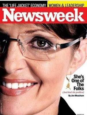sarah palin newsweek magazine cover. Sarah Palin on the cover