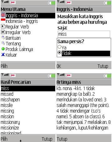 Kamus Bahasa Inggris Indonesia Dan Indonesia Inggris