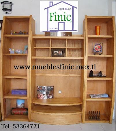 Librero TV Modular 200 x 190 Ayacahuite fino olmo