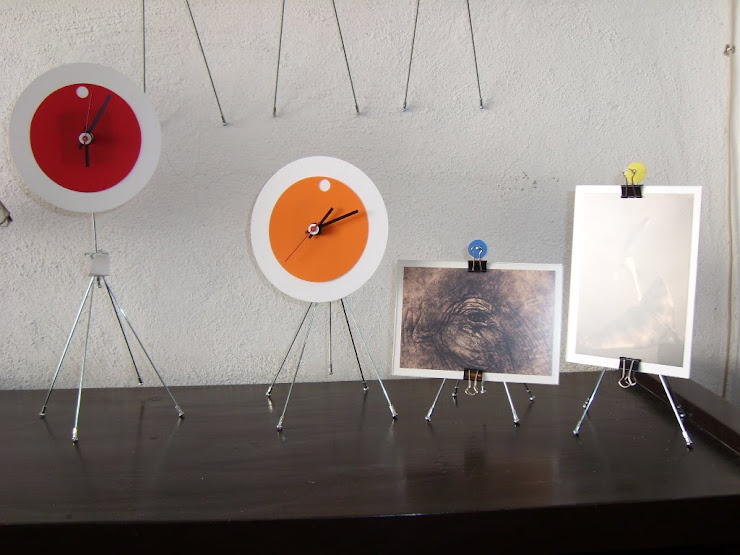 reloj y porta retrato grajales