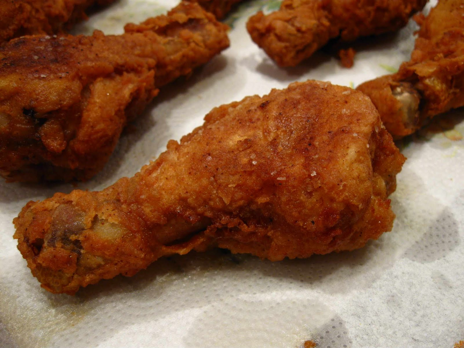 ... fried chicken does not taste the same as store bought fried chicken