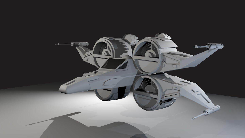 Cgnoobs Sams Spaceship Design