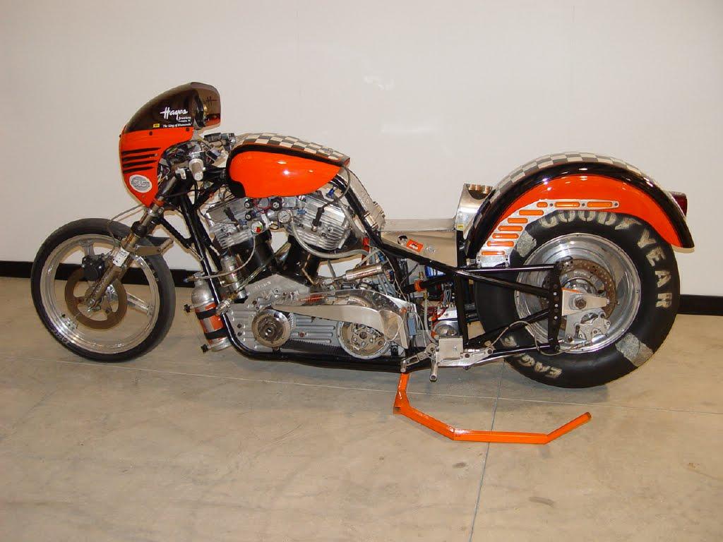 the flipside: Jeffro\'s Harley Davidson Drag Bike