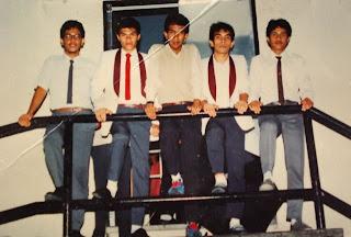 Kenangan Band Nada Sri Kinta 1987-1988