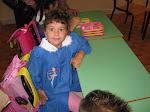 primo giorno di scuola di Rebecca