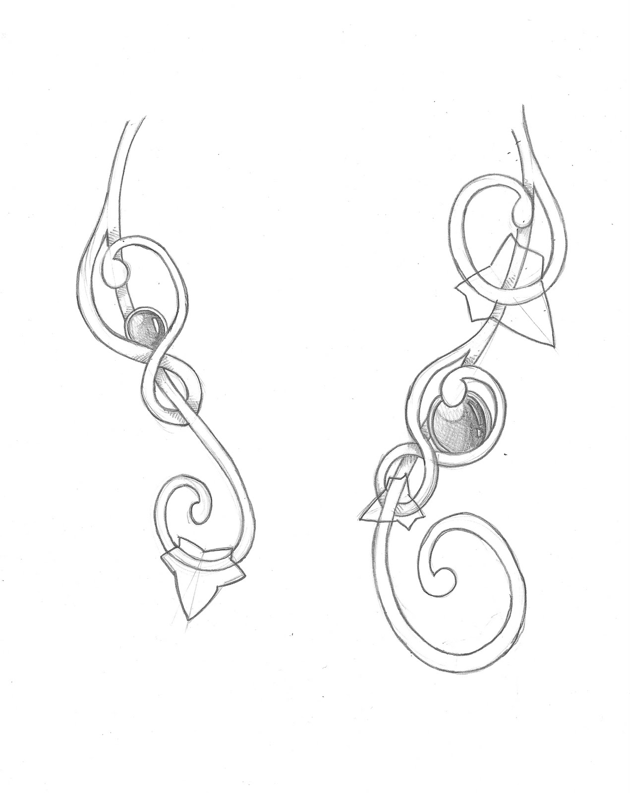 Bijoux Dessin bijoux d'après dessin   blog de l'atelier des elfes