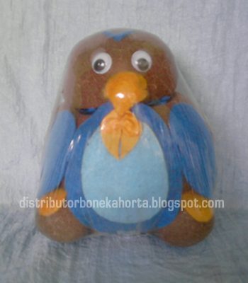 Boneka Potty Pinguin