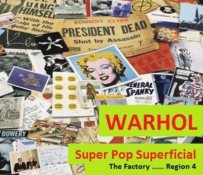 Warhol Super Pop Superficial