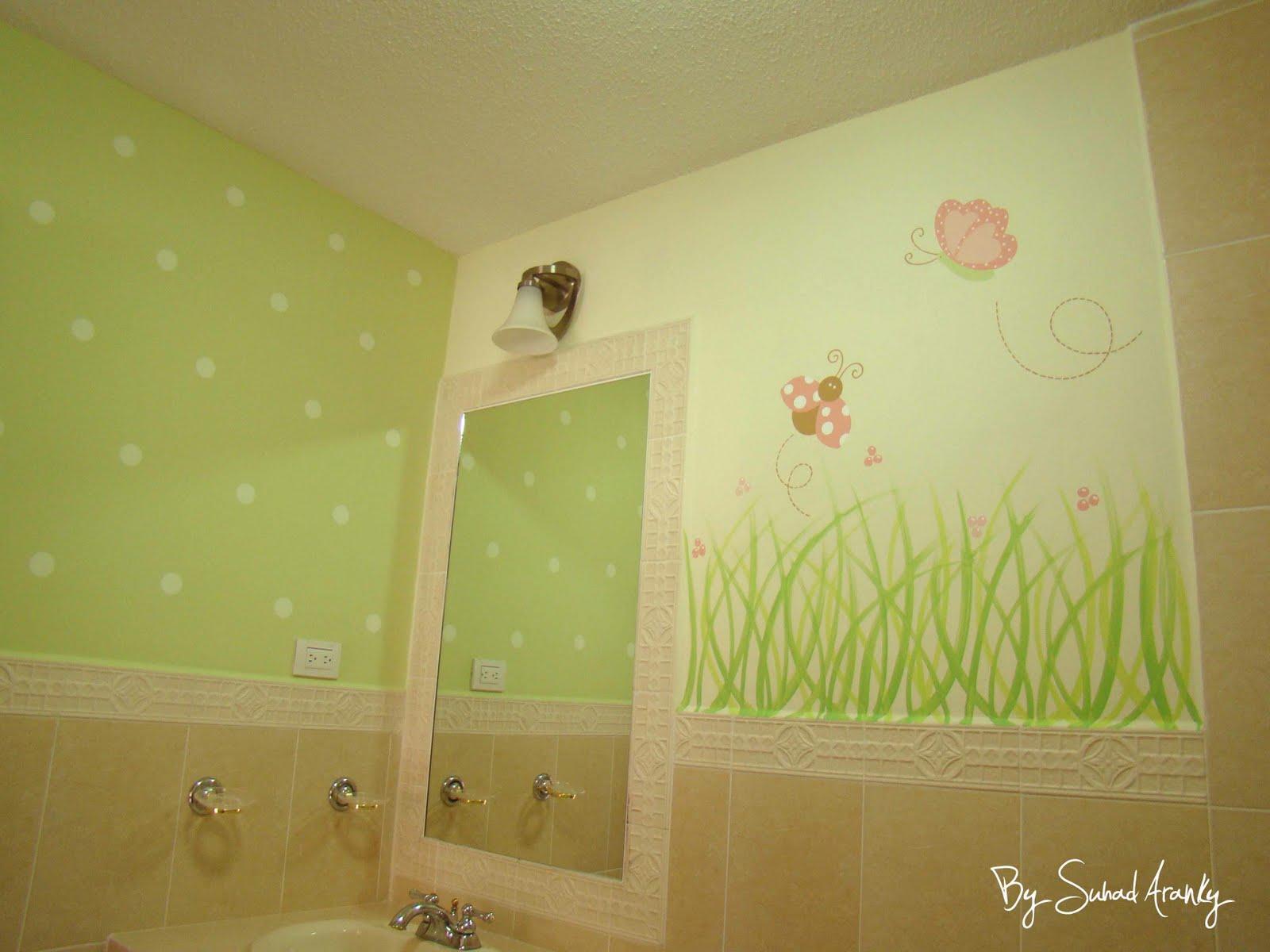 Imagenes De Baño Infantiles:Murales en Baños