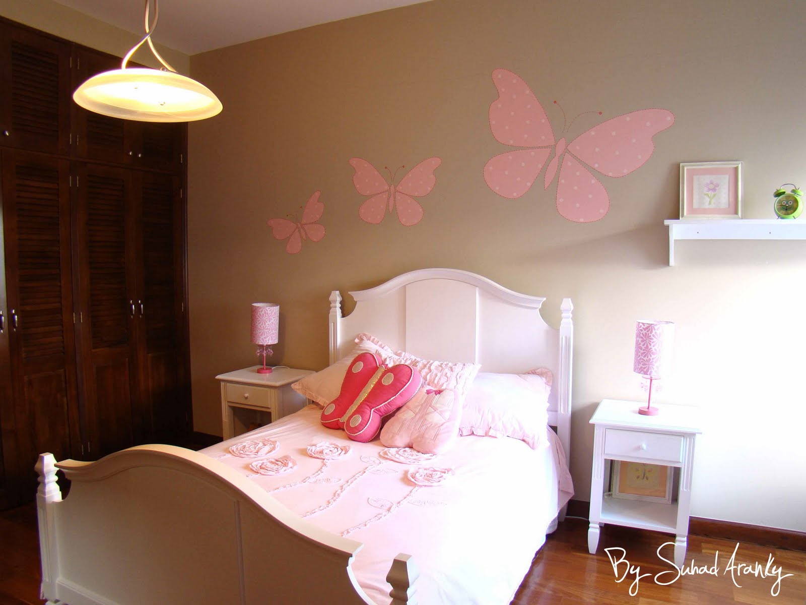 Murales con mariposas imagui - Murales para ninas ...
