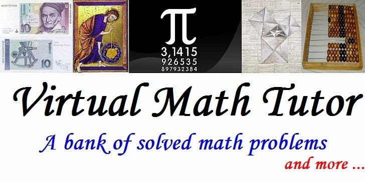 Virtual Math Tutor