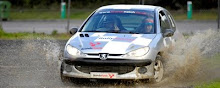 Rally driving at Brands Hatch