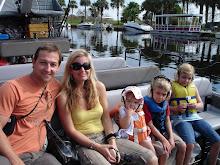 Aboard (alli)gator airboat