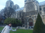 Notre Dame with Cindy
