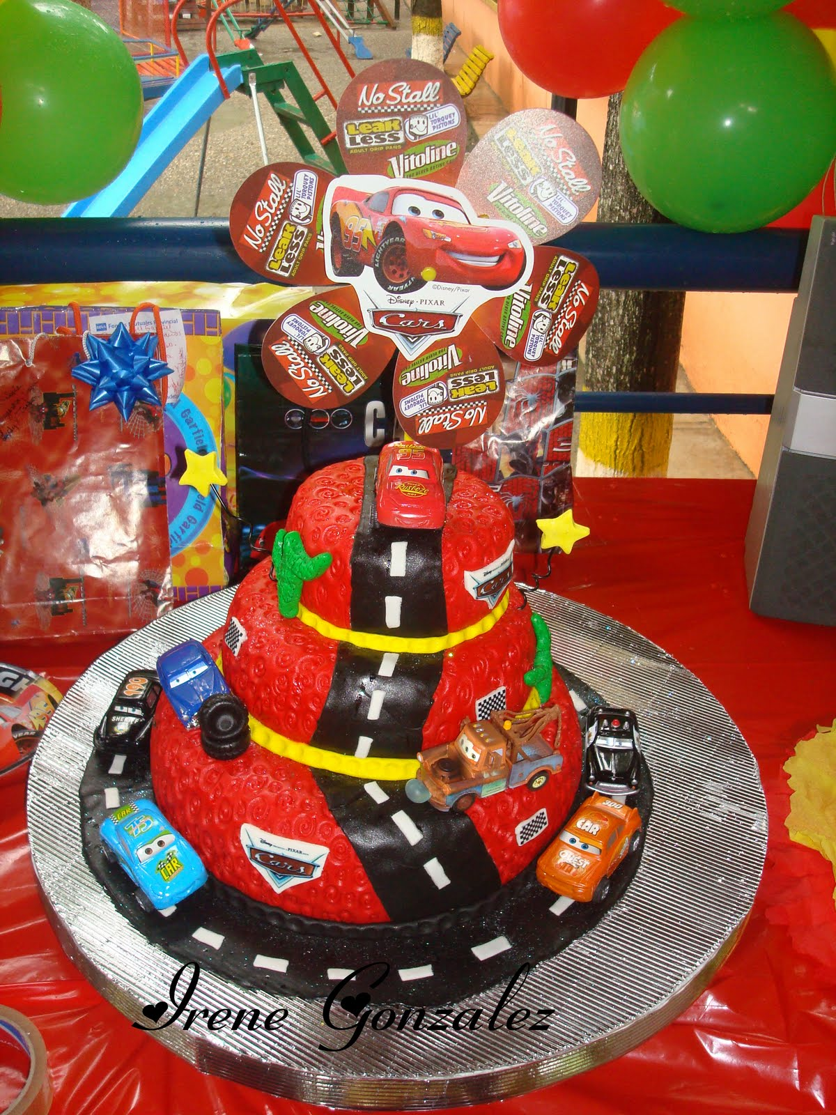 Otra torta de Cars