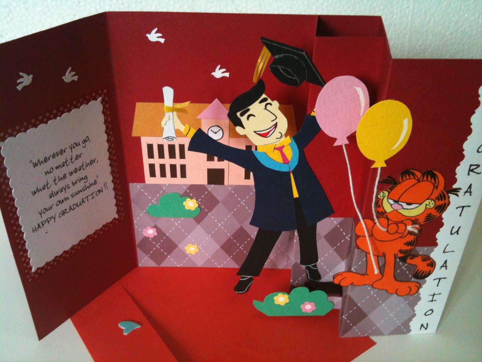 Handmade Greeting Cardcrafts Bestfriends Made It Graduation Is