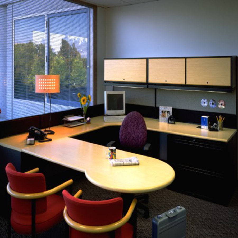 Modern office furniture for modern office aya furniture for Office space interior design ideas