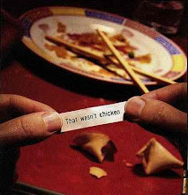 How would you like to get a fortune like this in your cookie?