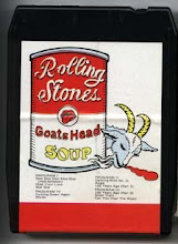 "bootleg 8-track of The Rolling Stones ""Goat's Head Soup"""