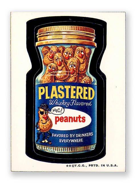 PLASTERED PEANUTS