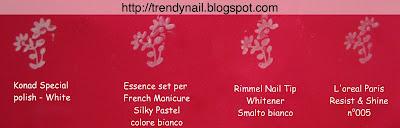 Test smalti normali bianchi per nail stamping con swatch Test_stamping_bianchi_ok_2