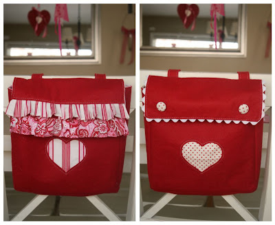 Valentine's Chair Bags