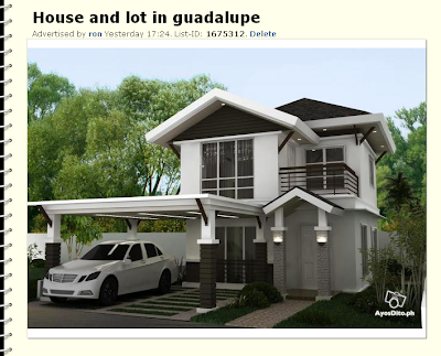 sale house and lot cebu house and lot for sale cebu ayosdito ph naga