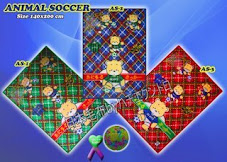 Blanket Animal Soccer