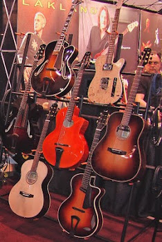 Thorell Fine Guitars at the NAMM Show - Click picture: