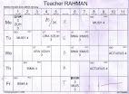 Jadual harian 2009