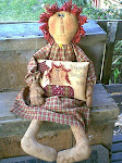 "E-Pattern  38"" doll..Just Big Ole Annie"