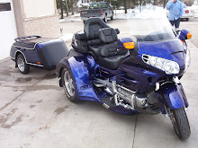 Goldwing trike and traler
