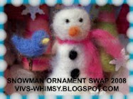 Snowman Ornament Swap